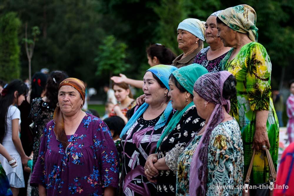 Feier am 1. Mai, Samarkand
