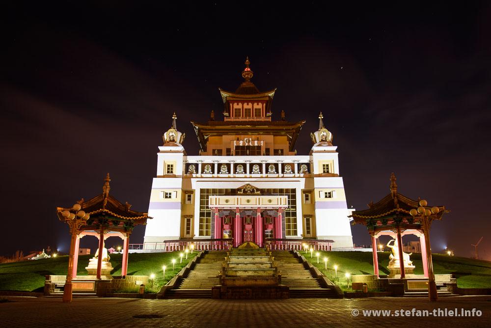 Der Goldene Tempel in Elista