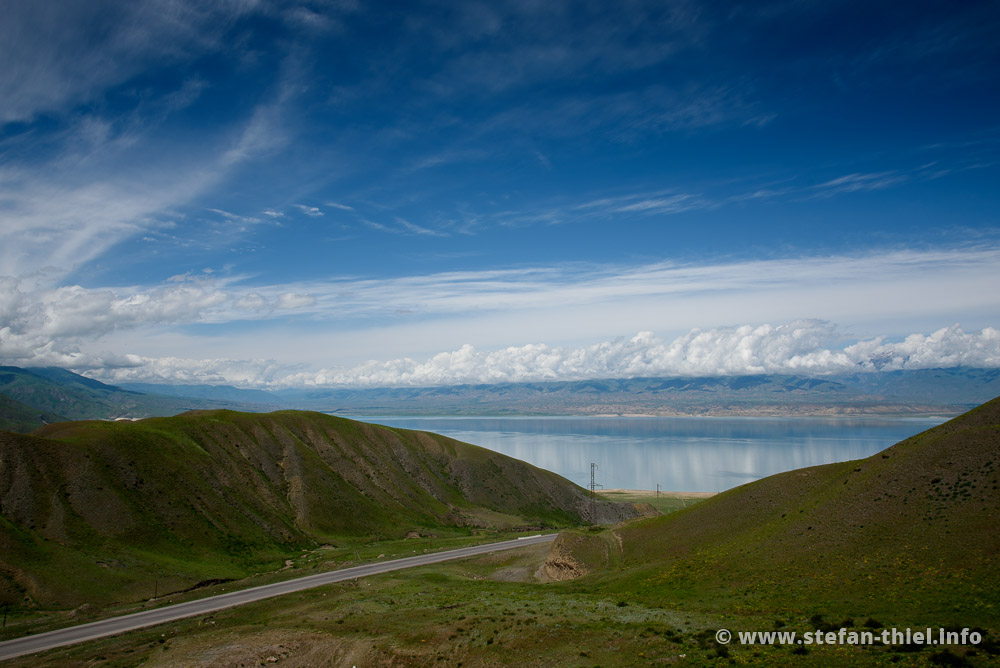 Toktogul-Stausee, Kirgistan