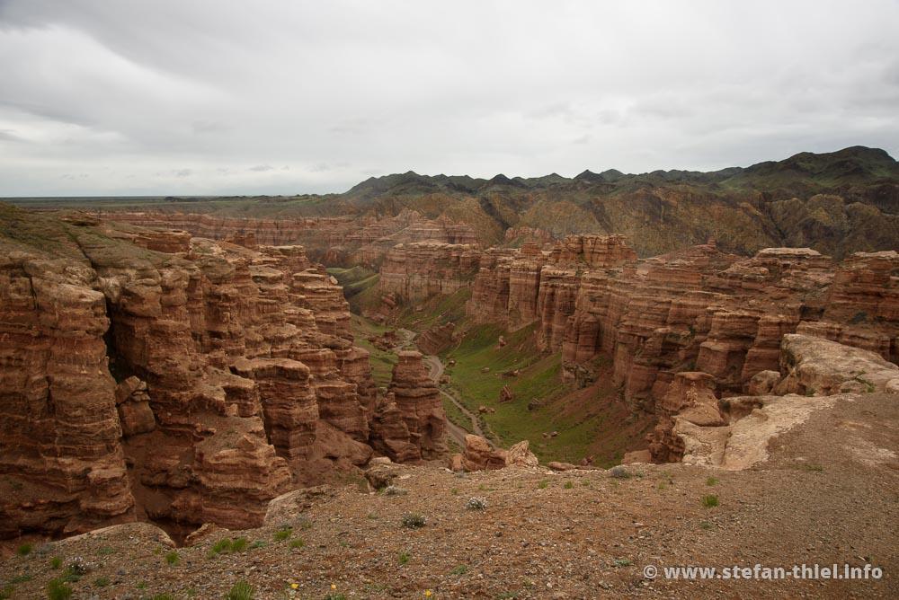Meisterwerk der Natur - die Scharyn-Schlucht in Kasachstan