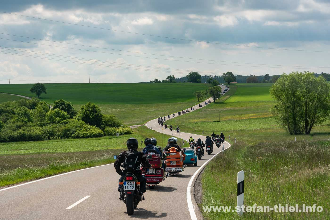 Pforzheimer Motorradtreffen für Menschen mit Behinderung